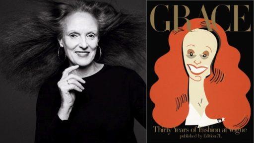 Grace Coddington, a fabulosa editora de moda da Vogue America